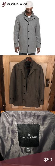 London Fog Coat Previously loved coat in great condition. Hardly worn. Size runs a little large. London Fog Jackets & Coats Pea Coats