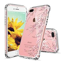 iPhone 7 Case, iPhone 7 Clear Case, MOSNOVO White Floral Henna Mandala Flower Pattern Clear Design Transparent Plastic Back Case with TPU Bumper Gel Protective Case Cover for Apple iPhone 7 Inch) Cute Iphone 7 Cases, Iphone Phone Cases, Iphone Se, Iphone 8 Plus, Apple Iphone, Plastic Case, Protective Cases, Galaxies, Cell Phone Accessories