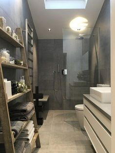 Contemporary bathroom design or the bathroom, one of the very visual pieces of a contemporary home! The bathroom offers the possibility to be equipped with bathroom elements at the forefront of design and create an environment deeply rooted in innovation, purifies and aesthetics. Browse 65 stunning contemporary bathroom design photos and decorating ideas from top interior designers. Get inspired and pick a best idea for your next bathroom renovation.. Source: www.pinterest.com
