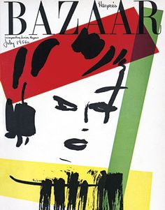 Harper's Bazaar cover by their legendary creative director, Alexey Brodovitch.