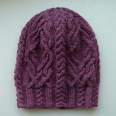Favorki hat knit free pattern by Agata Smektala