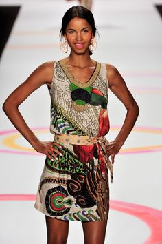Desigual at New York Fashion Week Spring 2014 - StyleBistro