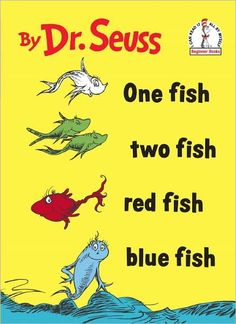 We love Dr. Seuss in my classroom. This past week was Dr.Seuss's birthday so we read a lot of different books. Our favorite was One Fish, Two Fish Blue Fish Red Fish. This is one of those b… Source: One Fish, Two Fish Activity Dr. Seuss, Red Fish Blue Fish, One Fish Two Fish, Fish Fish, Rosetta Stone, Coloring Pages, Kids Coloring, Coloring Sheets, Beginner Books