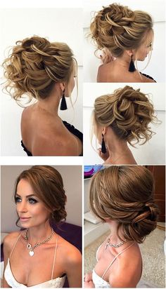 Stunning Wedding Hairstyles from - Forevermorebling Casual Hairstyles, Trending Hairstyles, Latest Hairstyles, Bride Hairstyles, Vintage Hairstyles, Mira Hair Oil, Roll Hairstyle, Updos Hairstyle, Style Hairstyle
