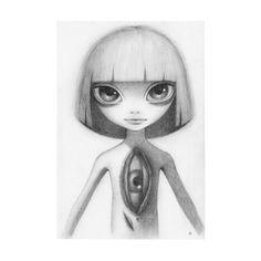 Perception Creates Reality – Pop Surrealism – New Contemporary – Big Eye Alien Art Alien Drawings, Cool Art Drawings, Armenia, Cute Alien, Space Illustration, Quirky Art, Macabre Art, Aliens And Ufos, Alien Art