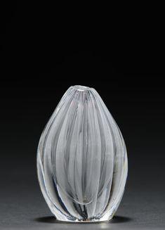 Vase by Tapio Wirkkala Glass Design, Design Art, Finland, Vases, Scandinavian, Glass Art, Foundation, Artists, Ceramics