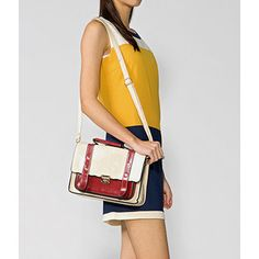 Two-Tone Shoulder Bag from #YesStyle <3 yeswalker YesStyle.com.au