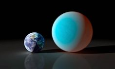 Earth and Exoplanet
