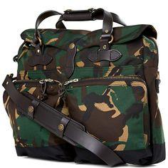 Filson 72 Hour Camouflage Briefcase