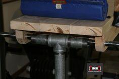Homemade Reverse Hyperextension machine