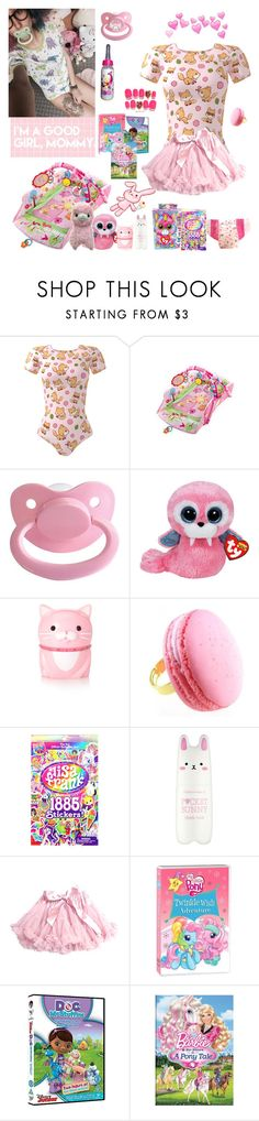 """Untitled #368"" by meow-im-dead-inside ❤ liked on Polyvore featuring Forever 21, N2 By Les Nereides, Lisa Frank, Tony Moly and My Little Pony"