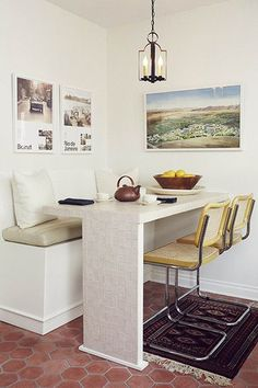 So Elevated - 15 Ways To Fake A Breakfast Nook - Photos