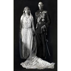 King George VI and Queen Elizabeth (Queen Mother) 1923