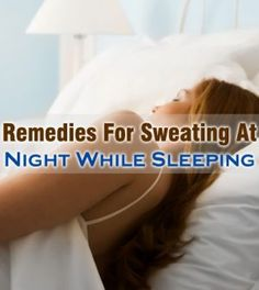 how to stop sweating while sleeping