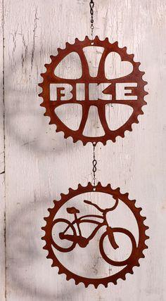 Cruiser Retro Bike Love Double Wind Chain by ShineOnSportyGirl, $35.00