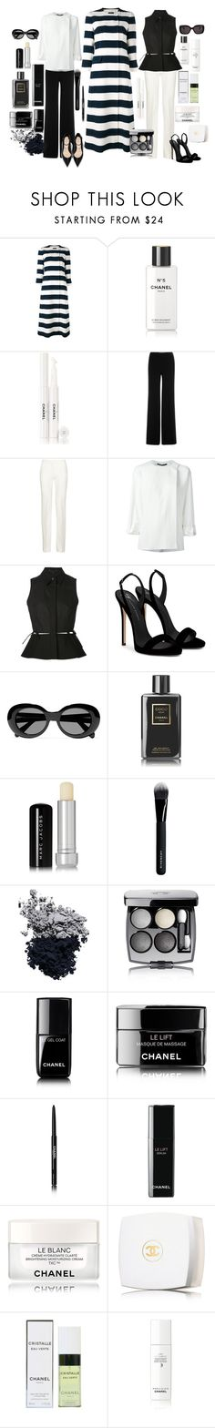 """""""CHANEL two ways!"""" by mara-wink ❤ liked on Polyvore featuring Dolce&Gabbana, Chanel, Diane Von Furstenberg, Victoria Beckham, Haider Ackermann, Alexander Wang, Giuseppe Zanotti, Acne Studios, Marc Jacobs and Givenchy"""