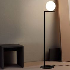 IC Lighting Flos Floor 1 Black by Michael Anastassiades торшер Black Floor Lamp, Modern Floor Lamps, Modern Lighting, Best Desk Lamp, Cool Lamps, Cool Floor Lamps, Large Lamps, Home Decor Furniture, Plywood Furniture