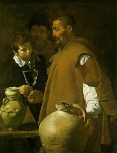 The Waterseller of Seville  1623 (130 Kb); Oil on canvas, 106.7 x 81 cm (42 x 31 7/8 in); Wellington Museum, London
