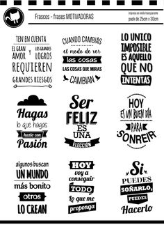 Resultado de imagen para frases etiquetas vinilo frasco Vintage Tags, Sweet Words, Photo Quotes, Spanish Quotes, Happy Planner, Stencils, Printables, Thoughts, How To Plan