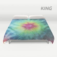 Duvet Cover  Comforter Cover  Tie Dye Bedding  by LKBcolour, $150.00