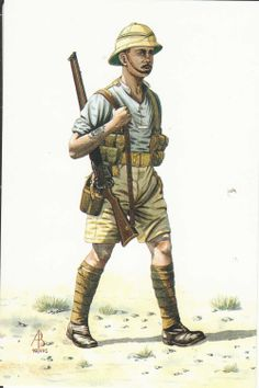 Delcampe - The greatest marketplace for collectors Military Diorama, Military Art, Military History, Military Uniforms, British Army Uniform, British Soldier, World War One, First World, Adventure Gear