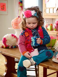Collection C'est la fête des fleurs / It's the flower fest collection #vetements #mode #enfant #clothing #fashion #kids www.sourismini.com