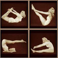 #Marilyn Monroe #Yoga