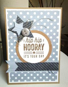 MFT 208; use stamp from the Hip, Hip Hooray card kit