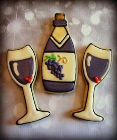 Wine cookies