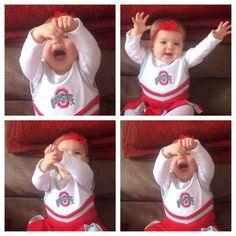 Baby girl Buckeye!