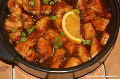 orange-chicken-gf in the Rockcroc. Pamperedchef.biz/elenas I can get you one ;)