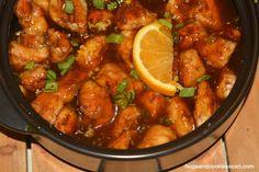 orange-chicken-gf in the Rockcroc. Pamperedchef.biz/elenas I can get you one ;)
