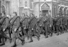 12 estremecedoras fotos de la Primera Guerra Mundial mezcladas con el presente, 100 años después