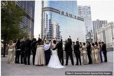 NEWLY WEDDED COUPLES MIDDLE-FINGERED F*CK TRUMP TOWER TO SHOW THEIR OPPOSITION TO DONALD TRUMP