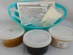 Trial size 2 oz. Starter Kit. Choose #Organic #Sugaring Paste or Wax. by JBHomemade on #ETSY $15.00 #organic #sugaring #sugarpaste #natural #holistic #gentle #homemade #gifts #unisex <> LIKE<> SHARE<> REPIN<> Reviews, more information, videos, photos, before and afters, history www.facebook.com/JBHomemade Now until my birthday, use #couponcode 11092014ME for #FREESHIPPING on ANY DOMESTIC ORDER of $20.00 or more,