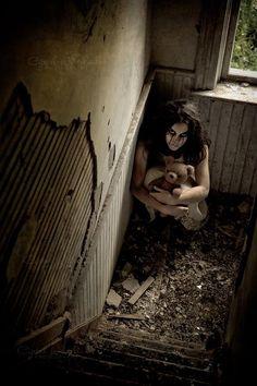 Our fun creepy photoshoot Crystal Whitehead Photography www.trishshairdesign.com