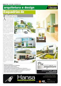 34°Publicação Jornal bom dia – Matéria - Esquadrias de aluminio   20-04-12