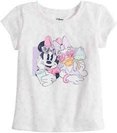 Disneyjumping Beans Disney's Minnie Mouse & Daisy Duck Toddler Girl Graphic Tee by Jumping Beans Daisy Duck, Bnf, Jumping Beans, Disney Girls, Disney Inspired, Hair Bows, Toddler Girl, Minnie Mouse, Graphic Tees