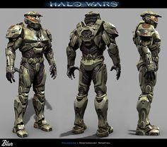 Halo Wars - Spartan Soldiers