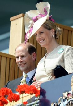 British Royal Family  attended  day 2 of Royal Ascot at Ascot Racecourse in Ascot, England ~ Earl & Countess of Wessex