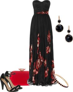 """""""Alexander McQueen Gown"""" by pollydickson on Polyvore"""