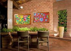 58 ideias de decoração com tecido chita para colorir sua casa