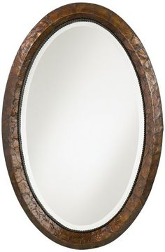 Bring new life to any room with this breathtaking capiz shell frame wall mirror. Heavily antiqued capiz shell frame with bronze glazing. Style # at Lamps Plus. Capiz Shell Mirror, Vanity Mirror, Oval Wall Mirror, Shell Frame, High Walls, Mirror Wall, Wall Mounted Mirror, Capiz Shell, Mirror