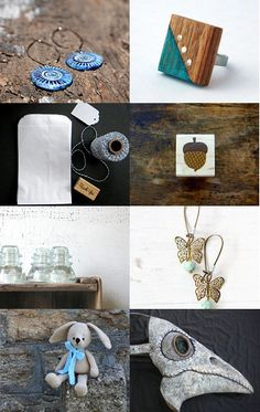 snuGGly Autumn II by GepArtJewellery on Etsy #grey #autumn #jewelry #fashion