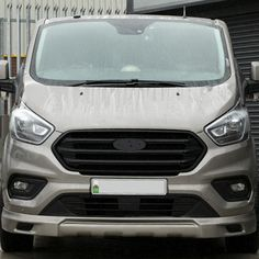 Ford Transit Custom Front Grille Oem Style New Shape Matte Chrome