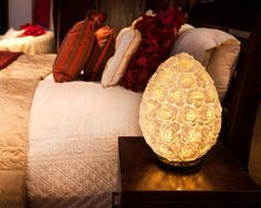 Rose Shell Lamp-Oval