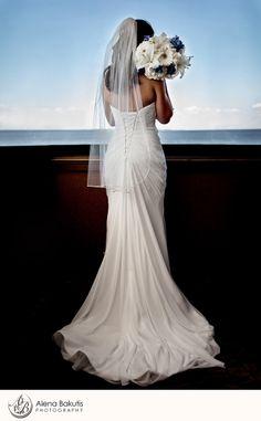 September SOLARIS Yacht Wedding in Destin, Florida: Sherry & Michael. Taken by Alena Bakutis Photography