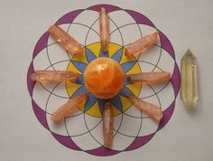 Reiki and Crystal Healing: Truth & Knowledge Crystal Grids