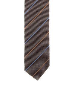 Ermenegildo Zegna Silk Striped Tie