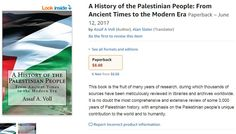 "Hypocrisy: Amazon Removes 'Palestinian History' Book, Keeps Selling 'Protocols of the Elders of Zion' ~  Amazon continues to sell T-Shirts that erase the Jewish State and replace it with ""Palestine"". Now that's a call for genocide."